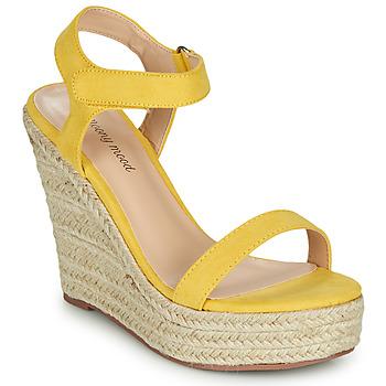 Zapatos Mujer Sandalias Moony Mood MARTA Amarillo