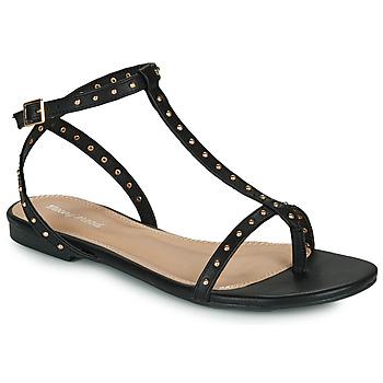 Zapatos Mujer Sandalias Moony Mood MARIELLE Negro