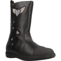 Zapatos Niña Botines Garvalin 191623 Negro
