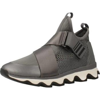 Zapatos Mujer Zapatillas altas Sorel KINETIC SNEAK Plata