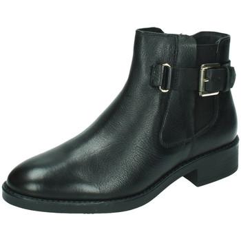 Zapatos Mujer Botines 48 Horas Botines piel 48horas Negro