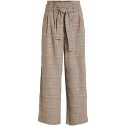 textil Mujer Pantalones Vila VIMULINI Beige