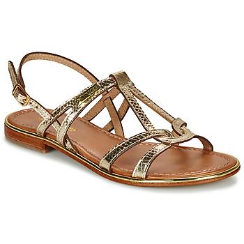 Zapatos Mujer Sandalias Les Tropéziennes par M Belarbi HACKLE Dorado