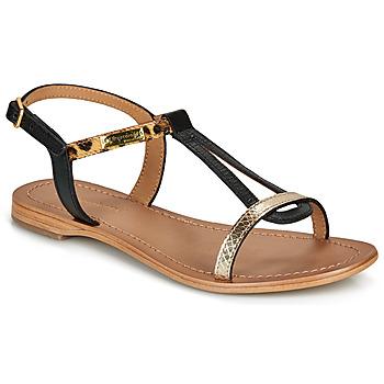 Zapatos Mujer Sandalias Les Tropéziennes par M Belarbi HAMAT Negro / Leopardo