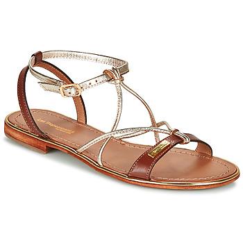 Zapatos Mujer Sandalias Les Tropéziennes par M Belarbi HIRONDEL Tan / Dorado