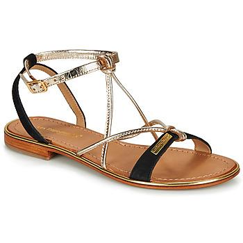 Zapatos Mujer Sandalias Les Tropéziennes par M Belarbi HIRONBUC Negro / Dorado