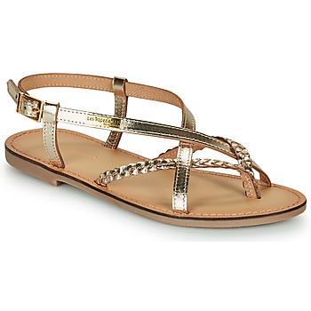 Zapatos Mujer Sandalias Les Tropéziennes par M Belarbi CHOU Dorado