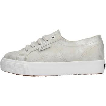Zapatos Niño Zapatillas bajas Superga - Sneaker argento S00FPE0 2730 972 ARGENTO
