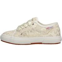 Zapatos Niña Zapatillas bajas Superga - Sneaker beige S00FM10 2750 936 BEIGE