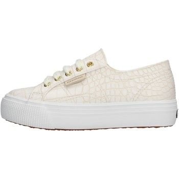 Zapatos Niña Zapatillas bajas Superga - Sneaker bianco S00FPG0 2790 900 ARGENTO