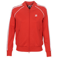 textil Mujer chaquetas de deporte adidas Originals SS TT Rojo / Exuberante