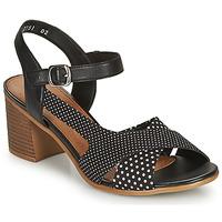 Zapatos Mujer Sandalias Remonte Dorndorf MOSKI Negro / Blanco