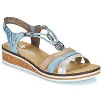 Zapatos Mujer Sandalias Rieker LAKTOS Azul
