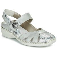 Zapatos Mujer Sandalias Rieker KYLIAN Plata
