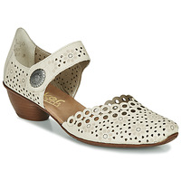 Zapatos Mujer Zapatos de tacón Rieker KIRIN Beige