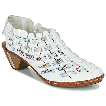 Zapatos Mujer Low boots Rieker KANIN Blanco / Multicolor