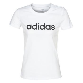 textil Mujer Camisetas manga corta adidas Performance E LIN SLIM T Blanco