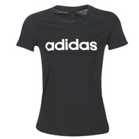 textil Mujer camisetas manga corta adidas Performance E LIN SLIM T Negro