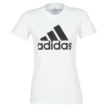 textil Mujer Camisetas manga corta adidas Performance BOS CO TEE Blanco