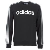 textil Hombre sudaderas adidas Performance E 3S CREW FL Negro