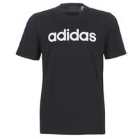 textil Hombre Camisetas manga corta adidas Performance E LIN TEE Negro