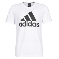 textil Hombre camisetas manga corta adidas Performance MH BOS Tee Blanco