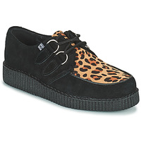 Zapatos Derbie TUK LOW FLEX ROUND TOE CREEPER Negro / Leopardo