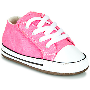 Zapatos Niña Zapatillas altas Converse CHUCK TAYLOR FIRST STAR CANVAS HI Rosa