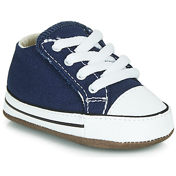 Zapatos Niños Zapatillas altas Converse CHUCK TAYLOR FIRST STAR CANVAS HI Azul