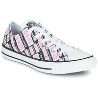 Zapatos Mujer Zapatillas altas Converse CHUCK TAYLOR ALL STAR LOGO PLAY Blanco / Rosa / Negro