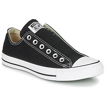 Zapatos Mujer Slip on Converse CHUCK TAYLOR ALL STAR SLIP CORE BASICS Negro