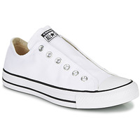 Zapatos Mujer Slip on Converse CHUCK TAYLOR ALL STAR SLIP CORE BASICS Blanco