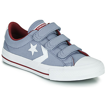 Zapatos Niño Zapatillas bajas Converse STAR PLAYER 3V VARSITY CANVAS Gris