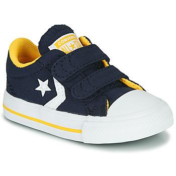 Zapatos Niño Zapatillas bajas Converse Star Player 2V Varsity Canvas Azul