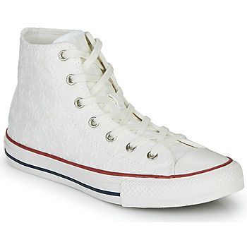 Zapatos Niña Zapatillas altas Converse CHUCK TAYLOR ALL STAR LITTLE MISS CHUCK Blanco
