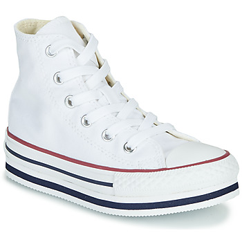 Zapatos Niña Zapatillas altas Converse CHUCK TAYLOR ALL STAR PLATFORM EVA EVERYDAY EASE Blanco