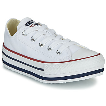 Zapatos Niña Zapatillas bajas Converse CHUCK TAYLOR ALL STAR PLATFORM EVA EVERYDAY EASE Blanco