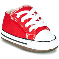 Zapatos Niños Zapatillas altas Converse CHUCK TAYLOR ALL STAR CRIBSTER CANVAS COLOR Rojo