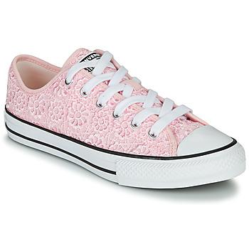 Zapatos Niños Zapatillas bajas Converse CHUCK TAYLOR ALL STAR DAISY CROCHET Rosa