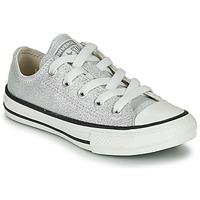 Zapatos Niños Zapatillas bajas Converse CHUCK TAYLOR ALL STAR SUMMER SPARKLE Gris