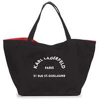 Bolsos Mujer Bolso shopping Karl Lagerfeld RUE ST GUILLAUE CANVAS TOTE Negro