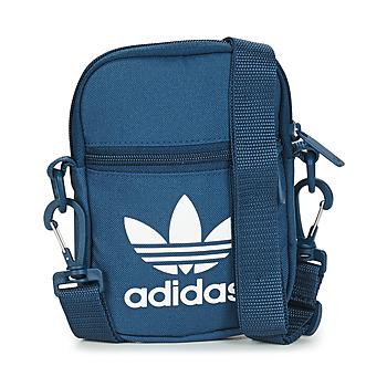 Bolsos Bolso pequeño / Cartera adidas Originals FEST BAG TREF Azul / Marino / Noche
