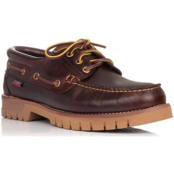 Zapatos Hombre Zapatos náuticos CallagHan 12500 MARRON