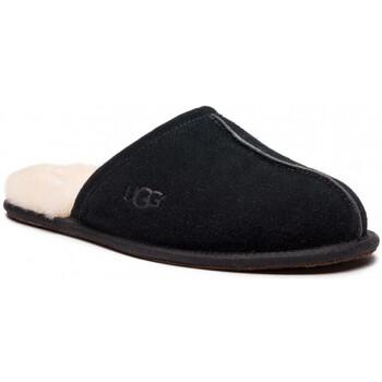 Zapatos Hombre Pantuflas UGG SCUFF Noir