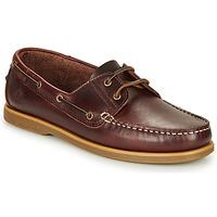 Zapatos Hombre Zapatos náuticos Lumberjack NAVIGATOR Marrón