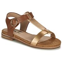 Zapatos Mujer Sandalias Armistice RIO SUNSET Marrón / Oro