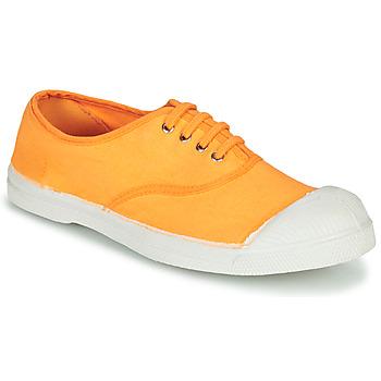 Zapatos Mujer Zapatillas bajas Bensimon TENNIS LACET Naranja