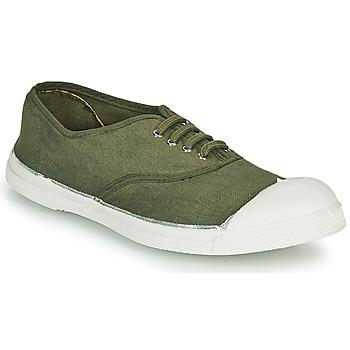 Zapatos Mujer Zapatillas bajas Bensimon TENNIS LACET Kaki
