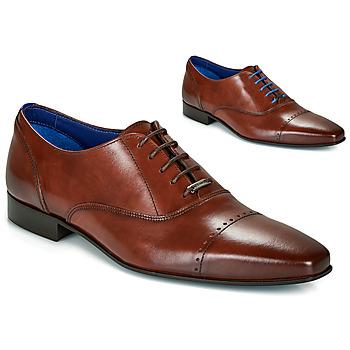 Zapatos Hombre Richelieu Azzaro DOGME Cognac