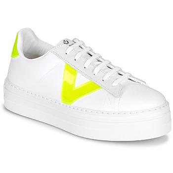 Zapatos Mujer Zapatillas bajas Victoria BARCELONA LONA Blanco